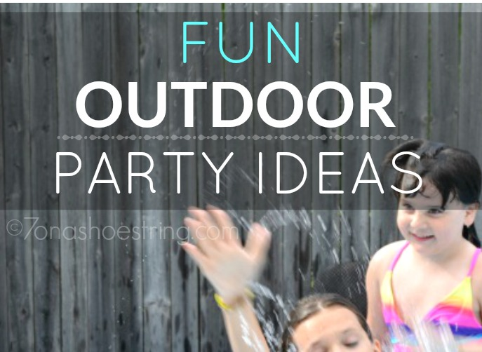 Fun Outdoor Party Ideas for Kids of All Ages