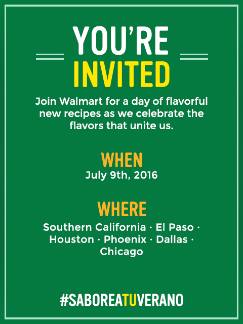 Knorr Walmart invitation