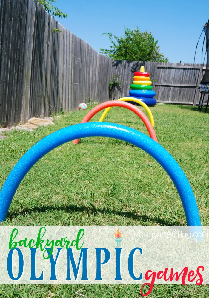 Outdoor Activities for Children - Host Your Own Backyard Games