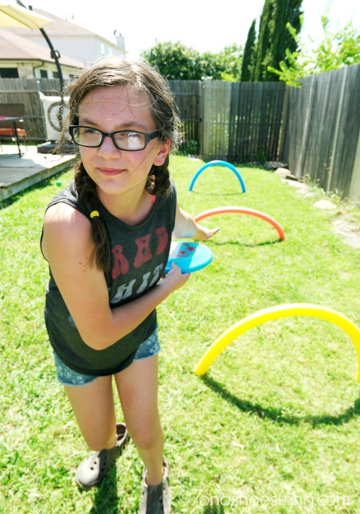 backyard olympics discus throw