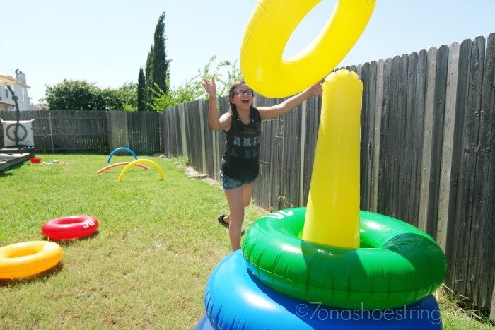 backyard olympics ring toss