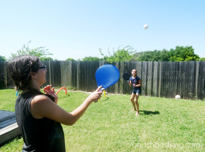 backyard games for kids tennis