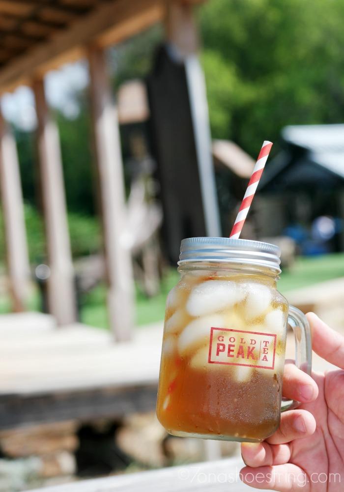 Gold-Peak-Tea-at-small-town-park