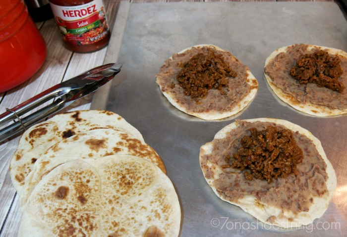 Herdez® Instant Refried Beans Mexican Pizza