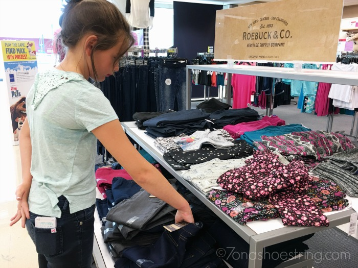 Sears Roebuck & Co new jeans for girls