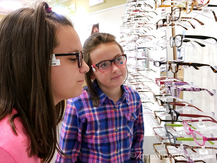 back to school glasses shopping