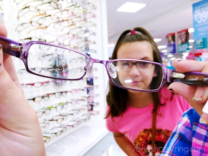glasses for kids at JCPenney Optical