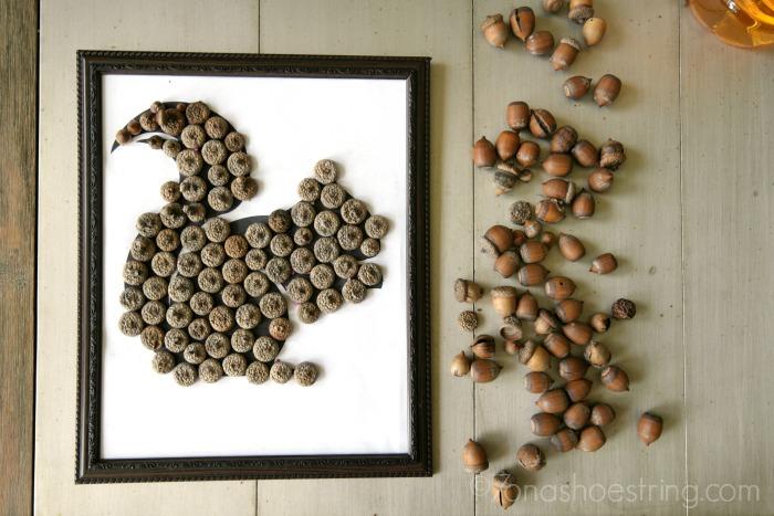 Squirrel Acorn Art