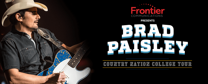 Brad Paisley Country Nation College Tour