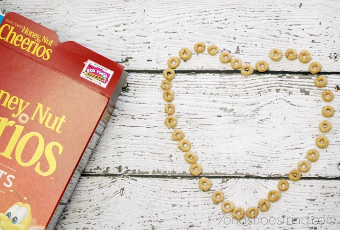 Honey Nut Cheerios - cereal con carino