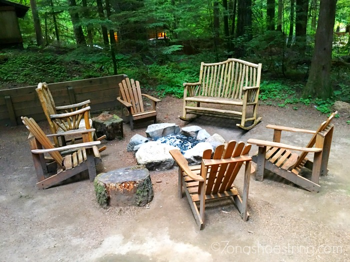 Sycamore Lodge - All Season Vacation Rentals outdoor firepit