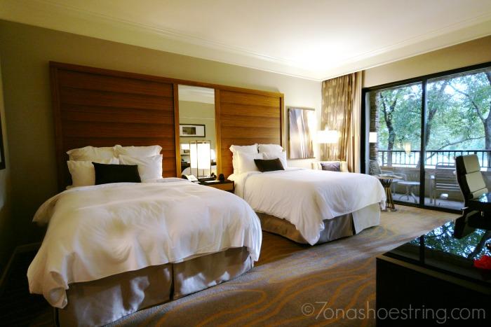 The Woodlands Resort double beds