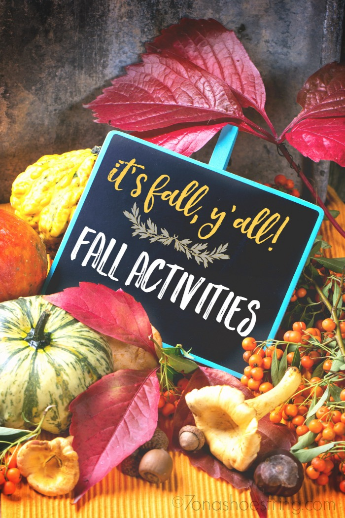 List of Fall Activities for Families