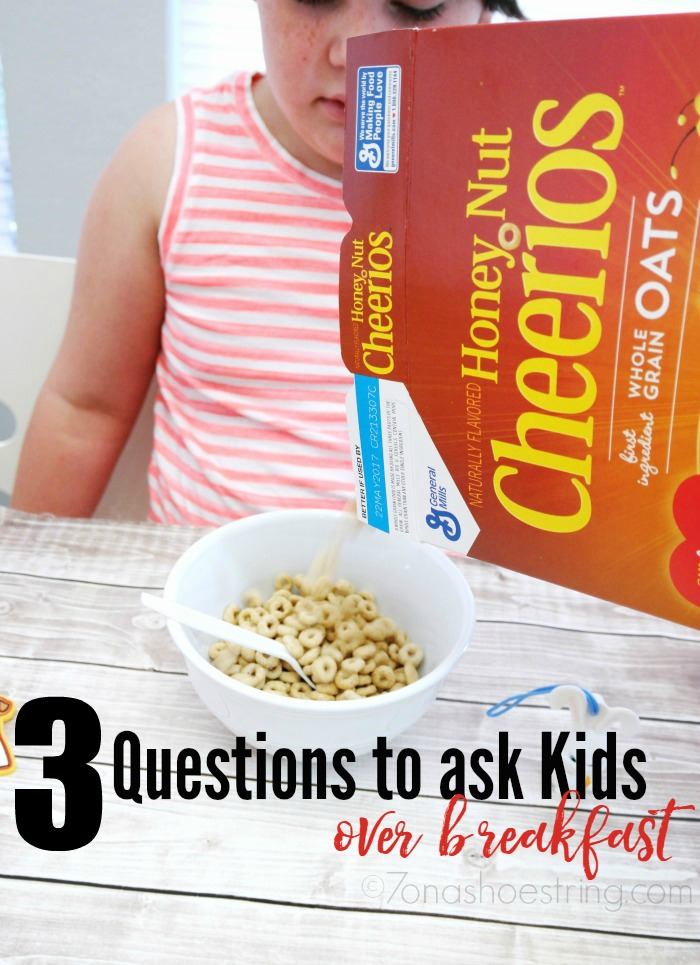 3 Questions to Ask Your Kids over Breakfast