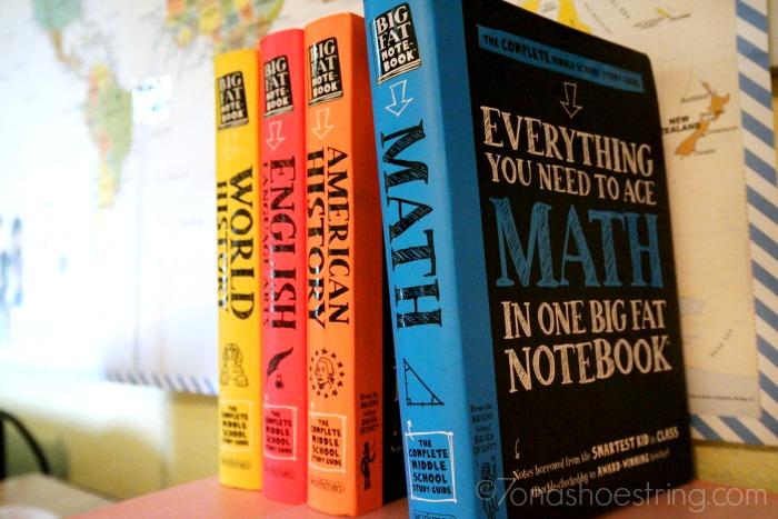 Big Fat Notebooks study space