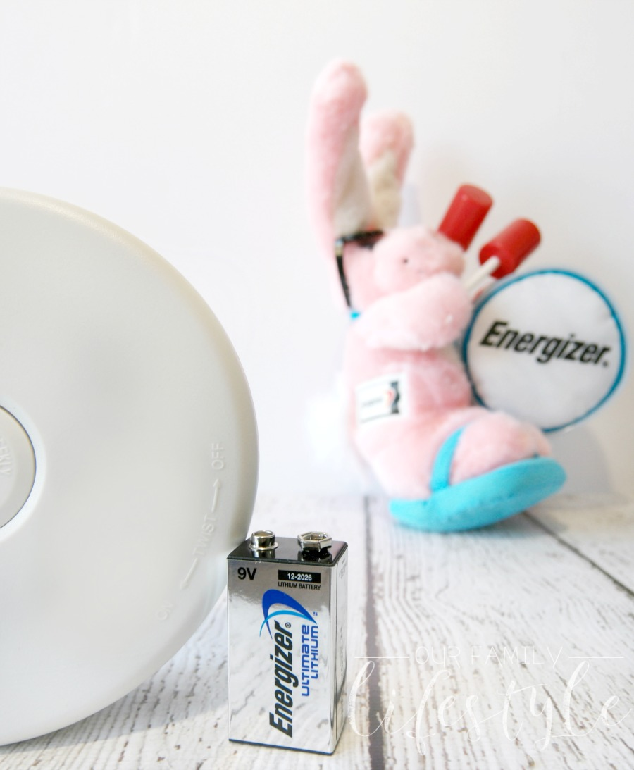 Energizer Change your clock Change your batteries