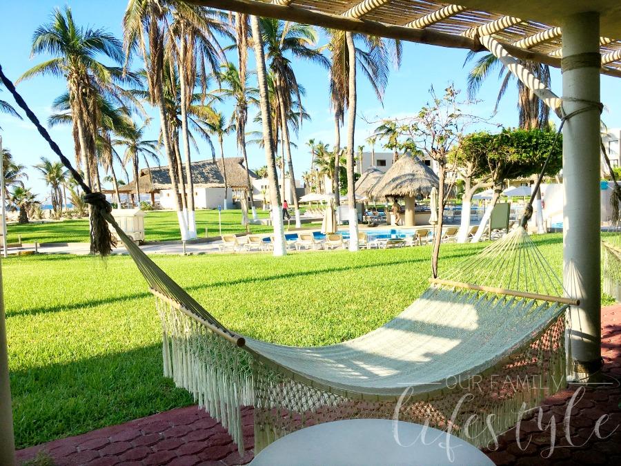 Holiday Inn Los Cabos hammock rooms
