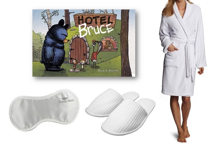 Hotel Bruce prize pack