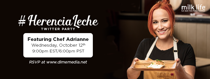 milk life #herencialeche Twitter Party