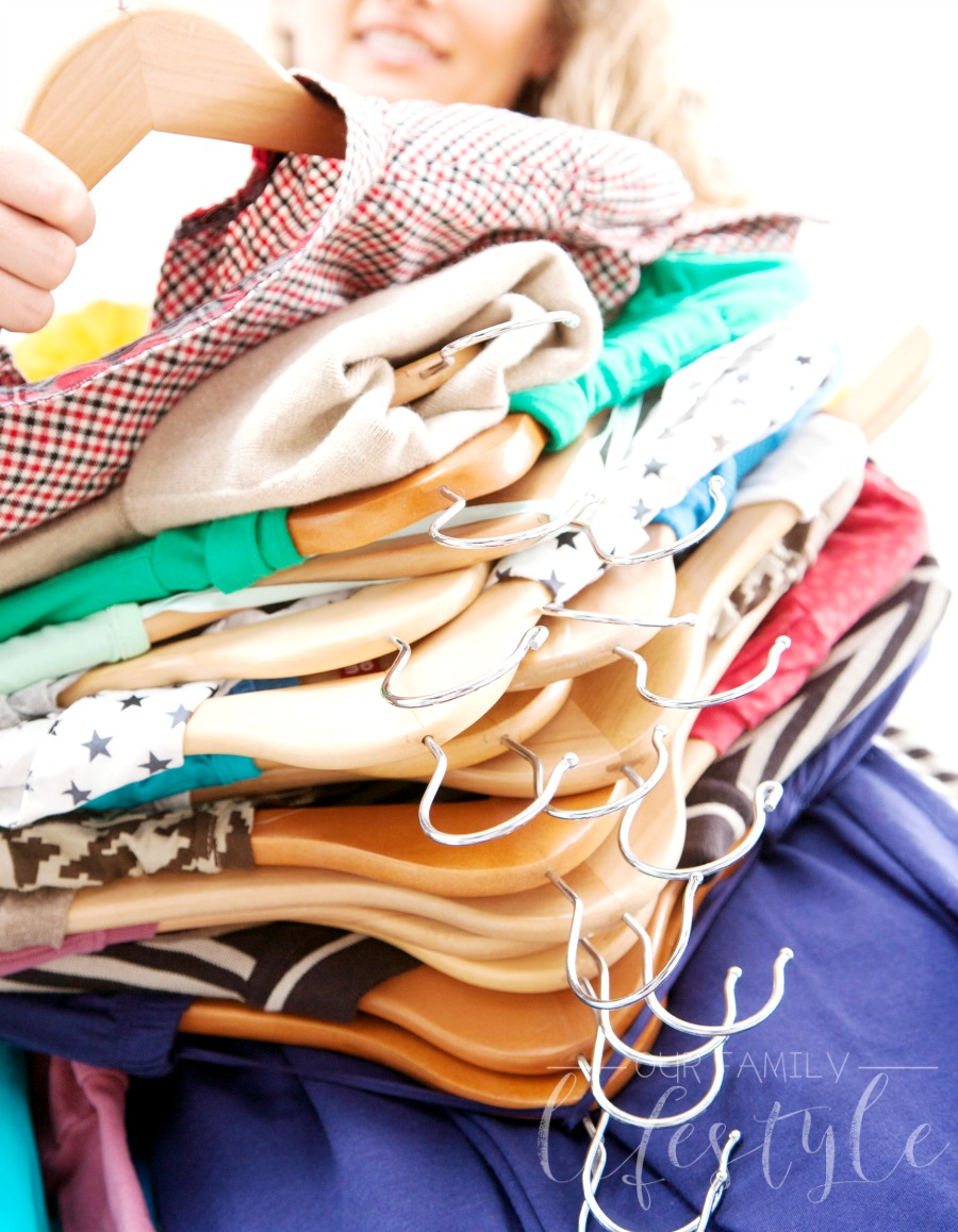 Organize seasonal clothes