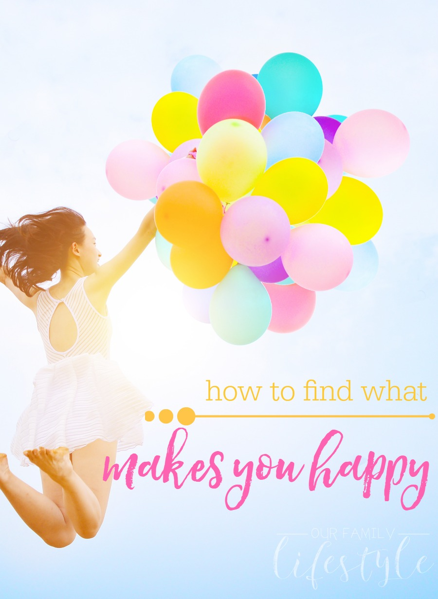 how to find what makes you happy