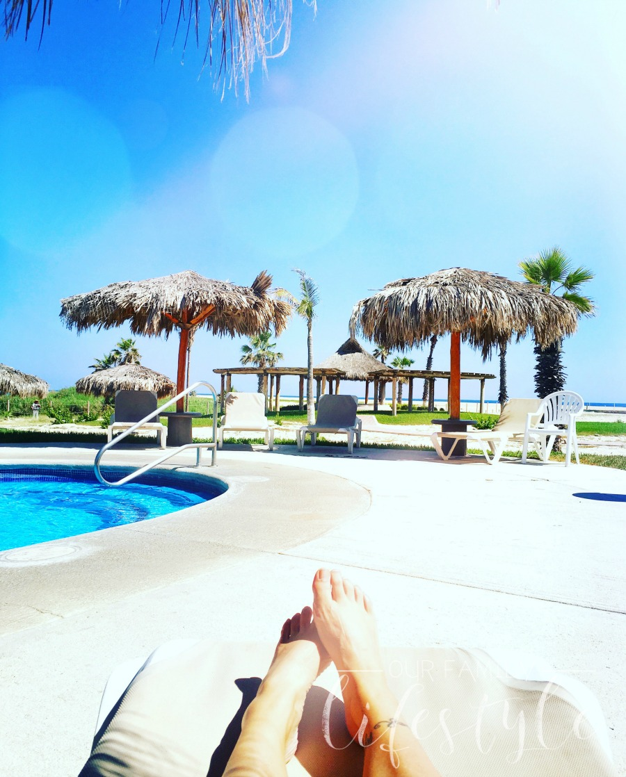poolside at Holiday Inn Los Cabos all inclusive