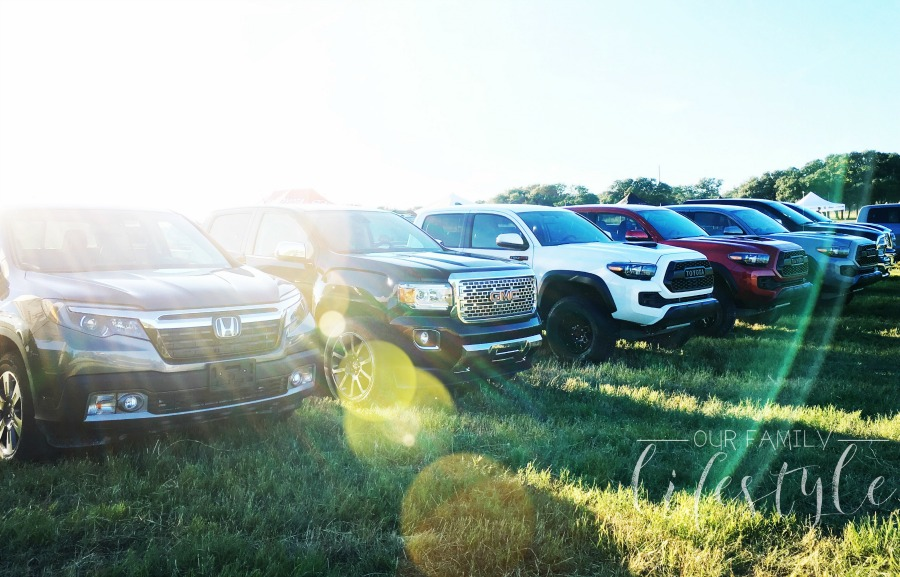 truck line up at 2016 Truck Rodeo