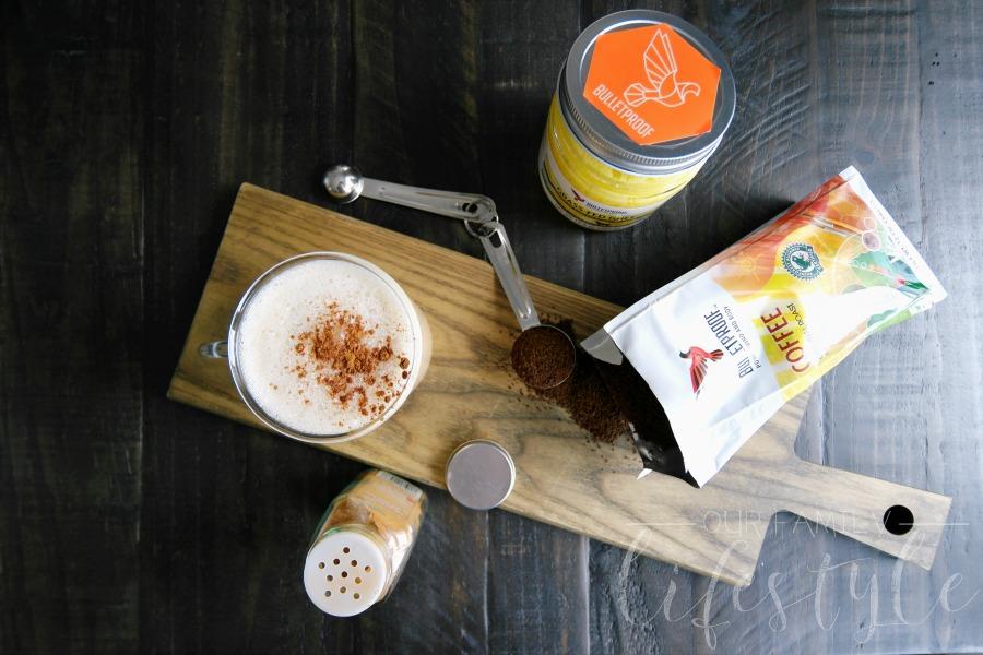 Bulletproof Coffee with grass-fed ghee