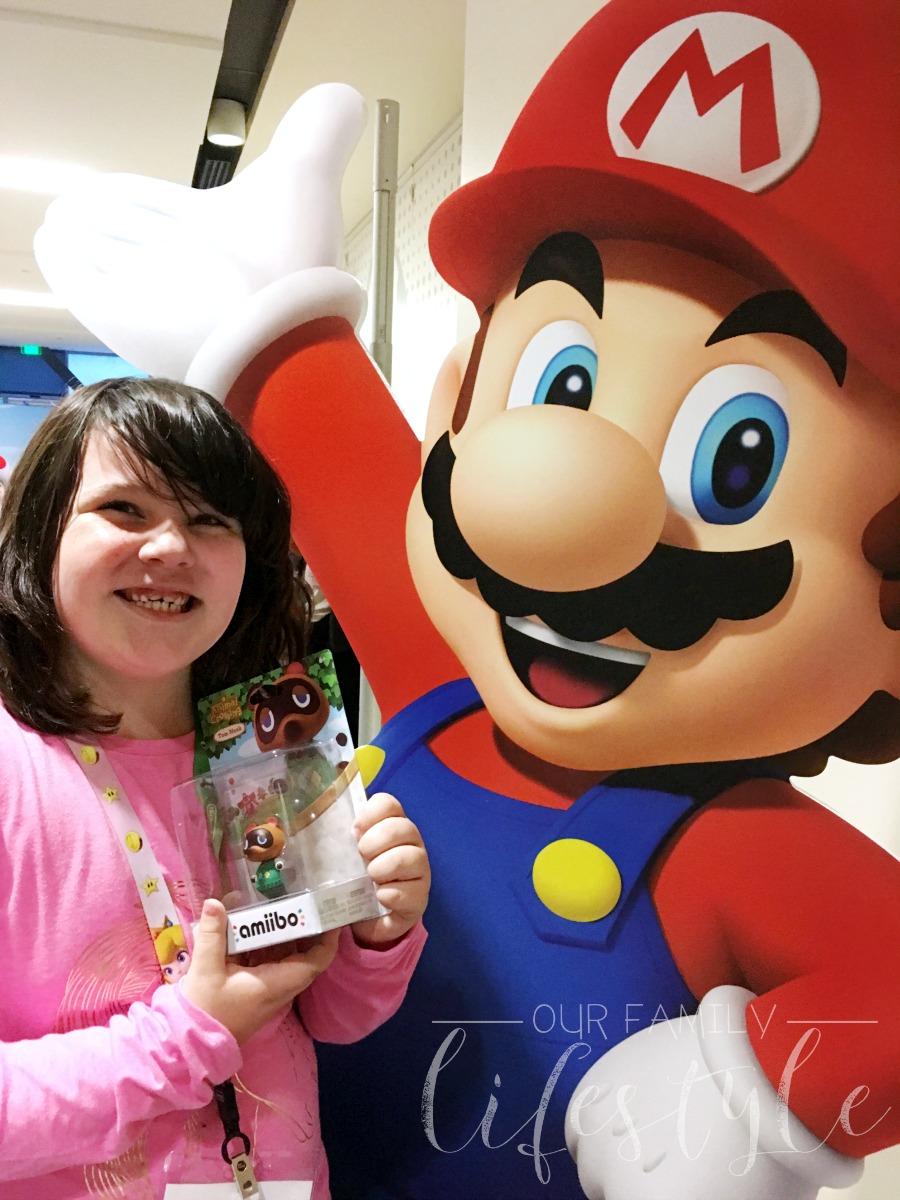 Mario and amiibo