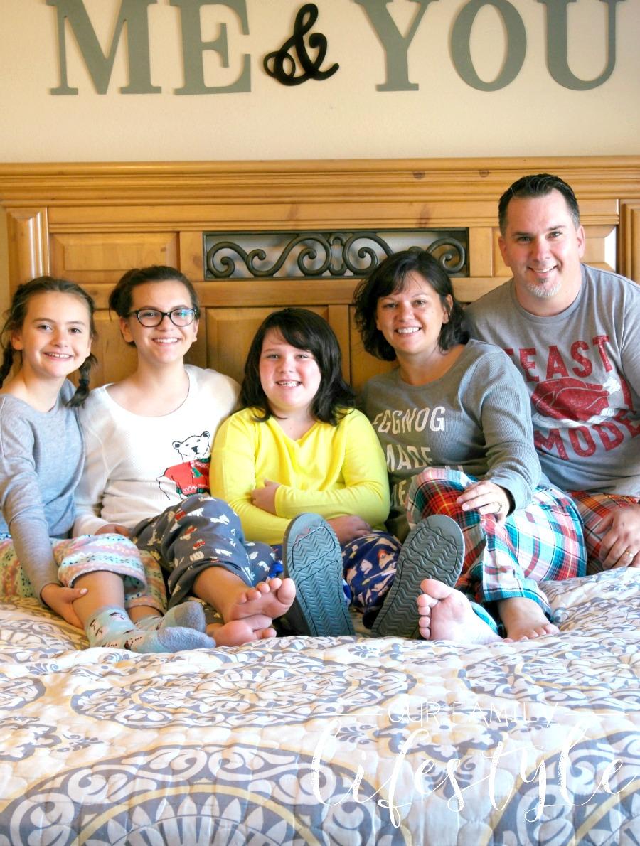 matching family pajamas Old Navy