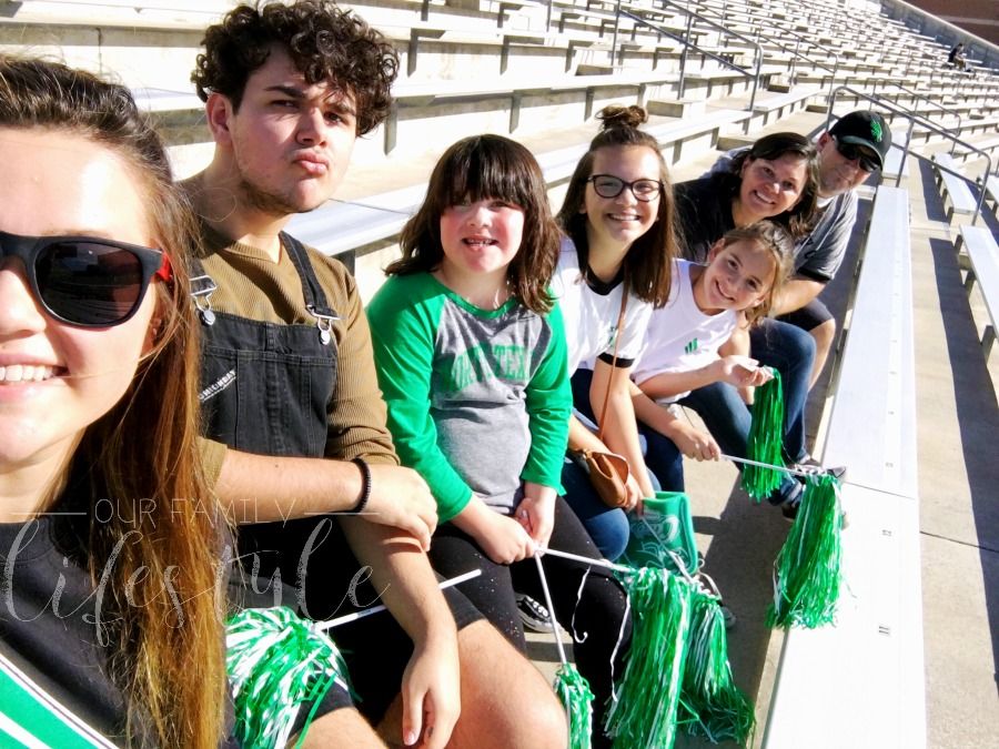 UNT family day