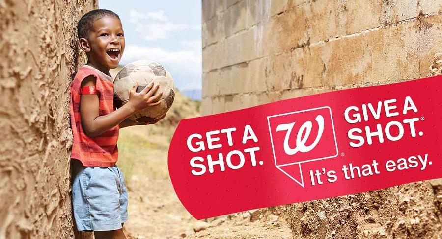Walgreens Get a Shot. Give a Shot. Campaign