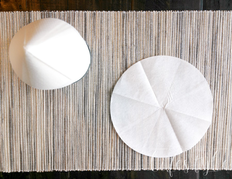 eco-friendly round paper towels