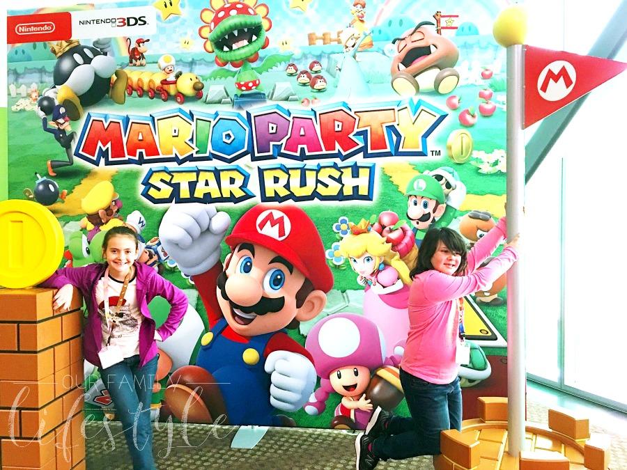 visiting Nintendo headquarters