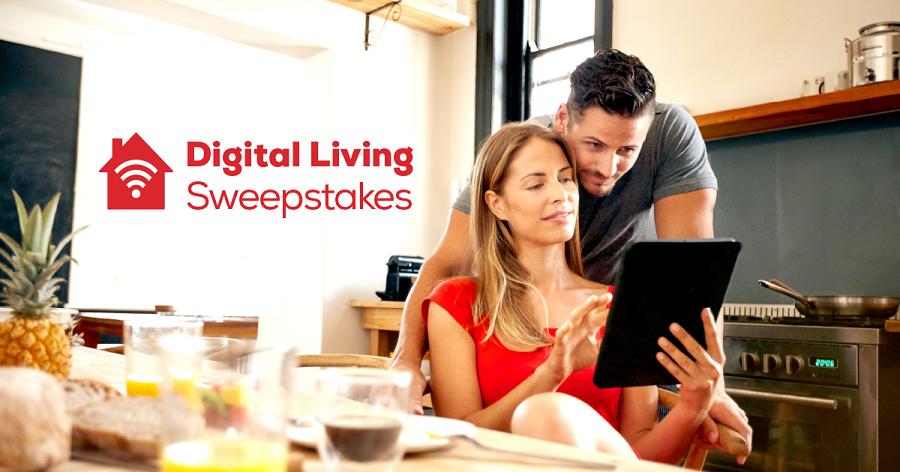 Frontier's Digital Living-Connected Home Sweepstakes