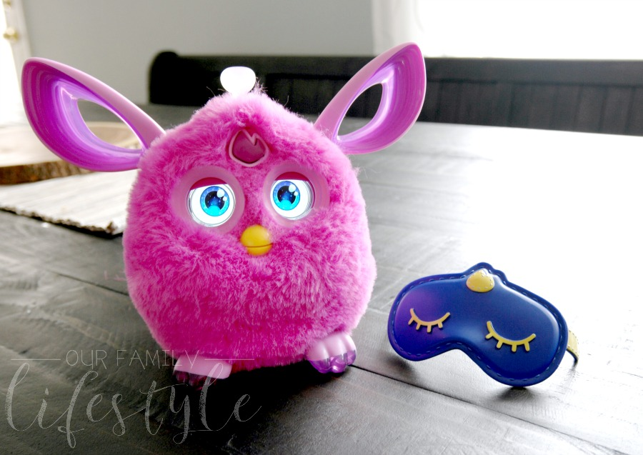 Furby Connect sleep mask