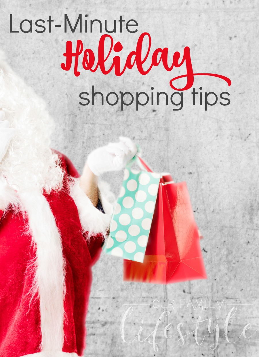 Last-Minute Holiday Shopping Tips with Sears