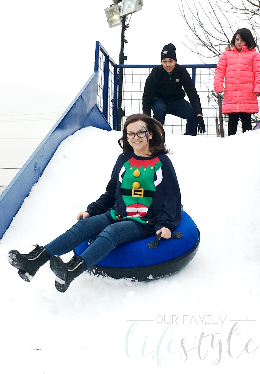 Pop-Up North Pole snow slide