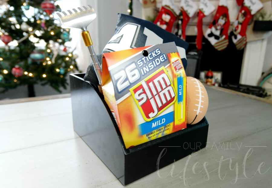 Slim Jim gift basket idea