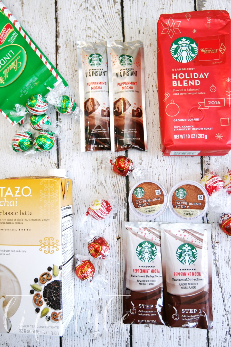 Starbucks and Lindt perfect holiday pairings