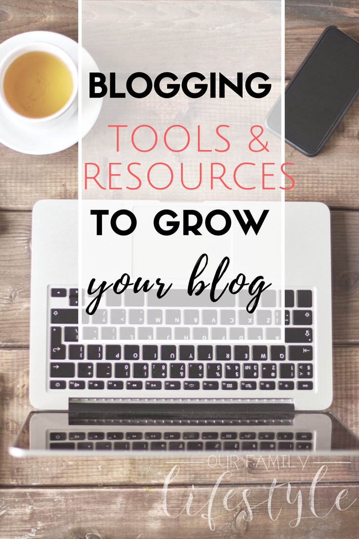 Large list of Blogging Tools and Resources to help bloggers start a blog, grow their blog, and learn more about making money online blogging.