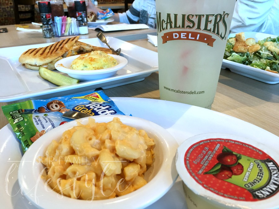 McAlisters Deli Family Date Night