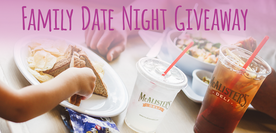 McAlisters Family Date Night Giveaway
