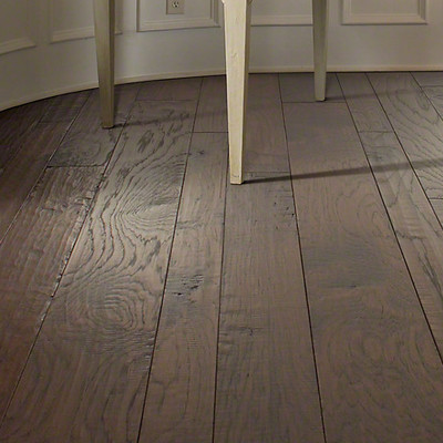 Shaw Floors Augusta Random Width Engineered Hickory Hardwood Flooring in Goodmen