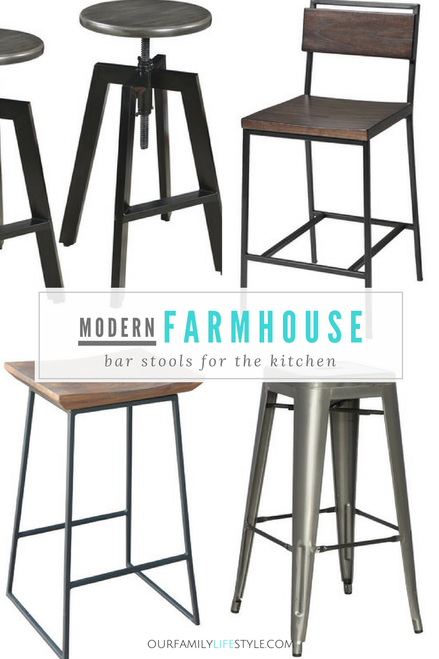 modern farmhouse bar stools