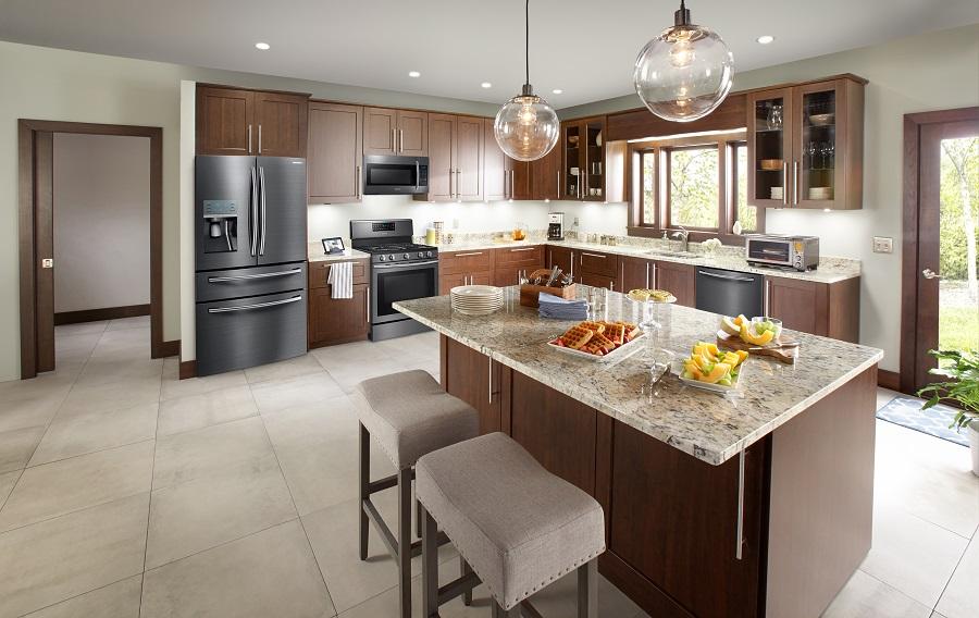 Best Buy Samsung Transitional Kitchen