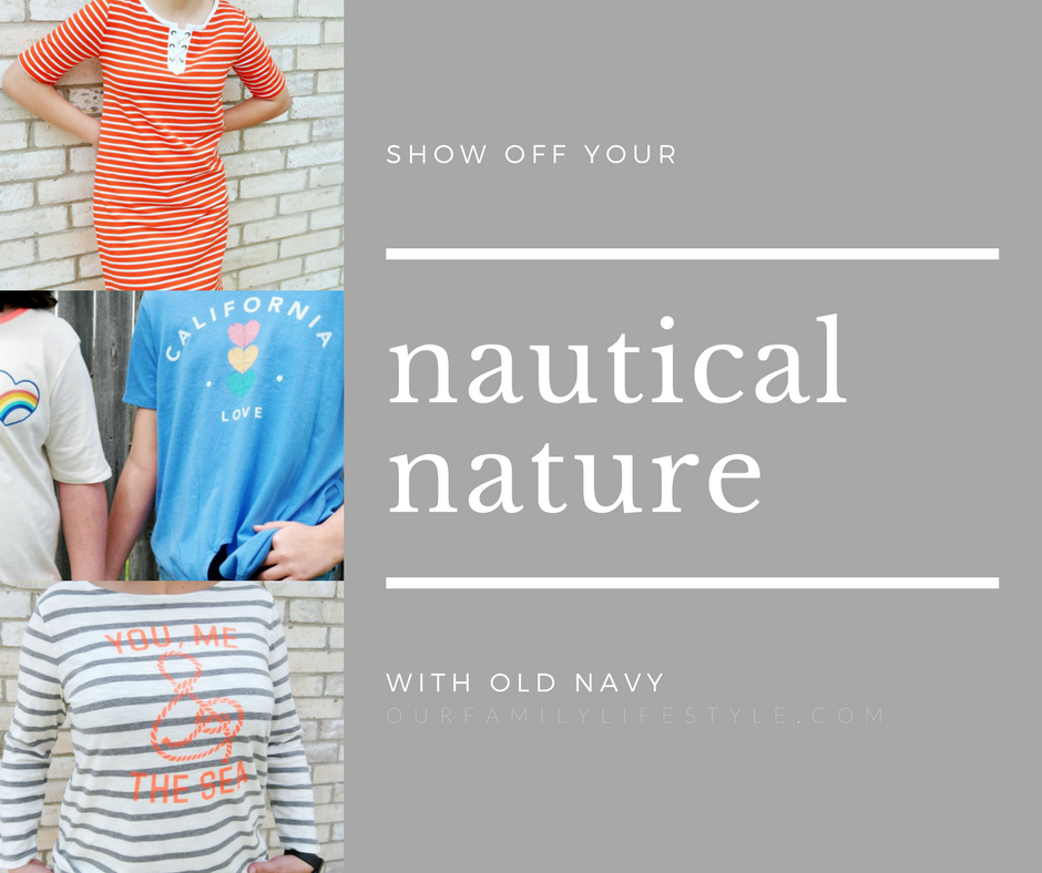 Show Off Your Nautical Nature with Old Navy