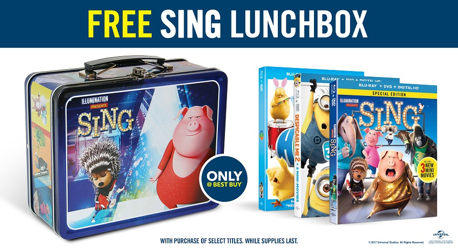 Sing Lunchbox at Best Buy