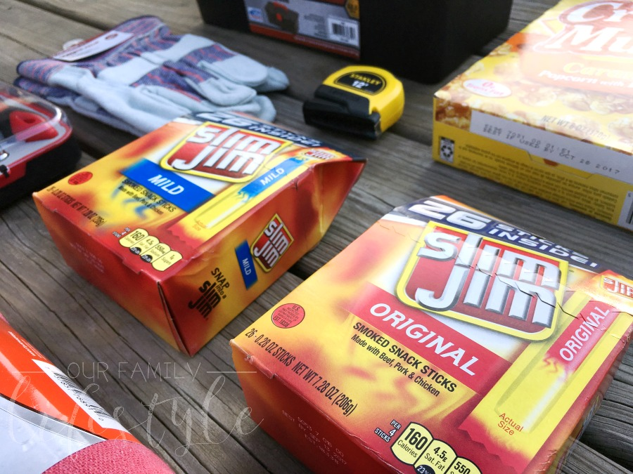 Slim Jim for Easter baskets