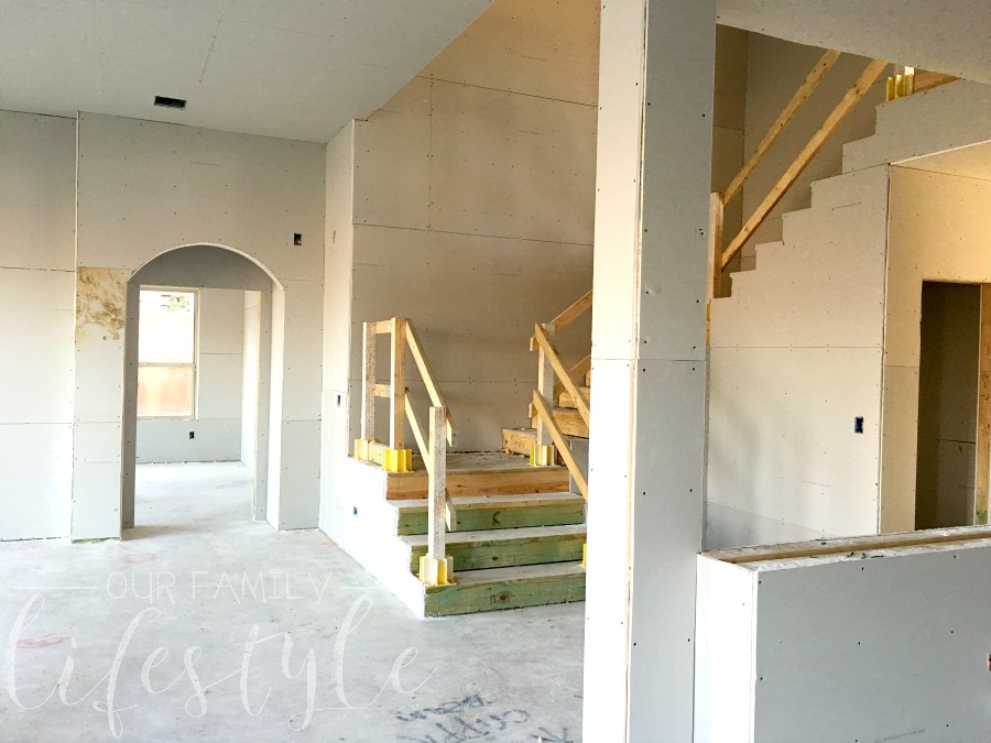 drywall makes a house